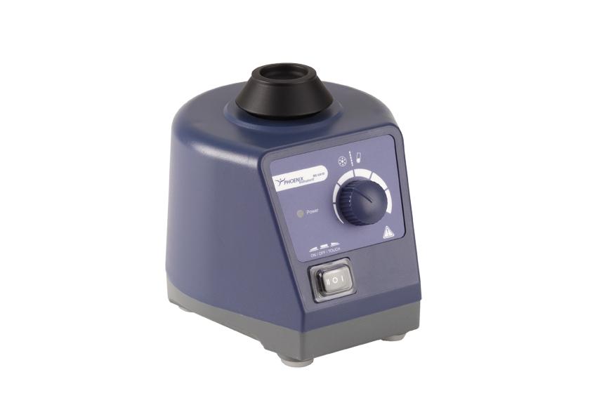 Phoenix RS-VA 10, Vortexer / Schüttler / Reagenzglasschüttler mit variabler Drehzahl